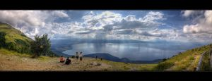 Lake Ohrid by karstART