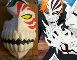Ichigo Hollow mask by sackerhale