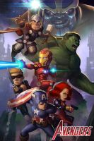 Avengers Assemble! by geeshin