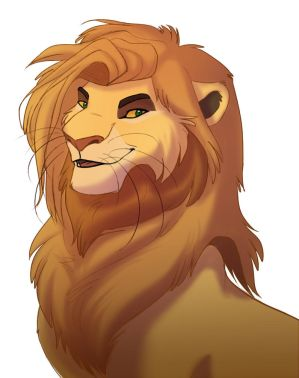 another lion by Solri-Elara