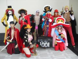 C.O.T.U Cosplay - ONE PIECE Movie Z Group by SailorUsagiChan