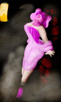 Pin-up: Pink Elephant by CptCog