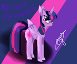 New pony style Test:Twilight Sparkle by azurathewolfcat
