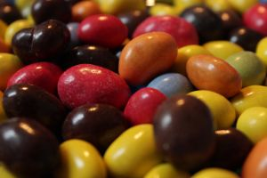 Chocolate Peanuts by wuestenbrand