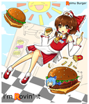Reimu Burger by KataChan