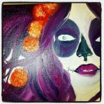 A Work in Progess, Sugar Skull Girl by Caylyngasm