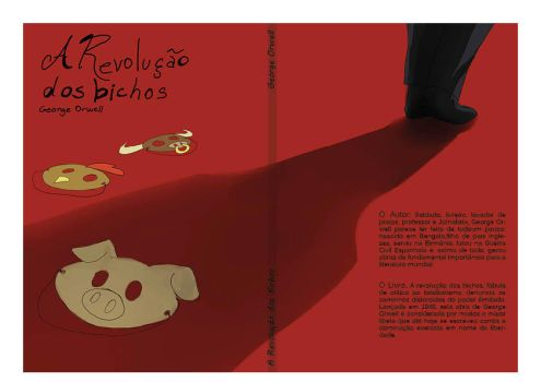 Cover for Animal Farm of G. O. by leia