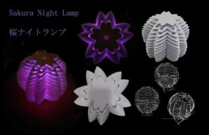 Sakura Night Lamp by Tifa1993