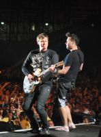 On Stage With Blink 182 by Soundcheck411