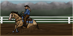 FEC Payment - Benji - HHR Reining by painted-cowgirl