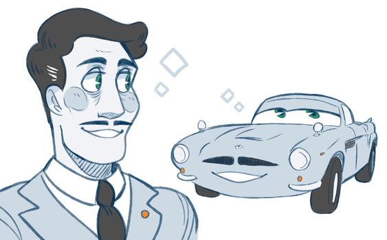 weird handsome car by PookaPookaa