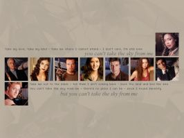 Firefly wallpaper by LittleGreenleaf