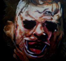Leatherface by RearNakedChode