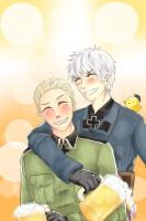 Prussia and Germany by squishydaikon
