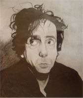 Tim Burton by BloodyElli