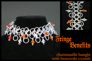 Fringe Benefits bracelet by eitanya