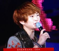 Onew: 120909 Incheon Kpop Concert by waterbirdART
