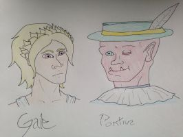 Gale and Pontius by IckleVoldiePoo