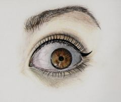 Colored eye II. by Mishice