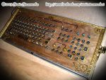 Steampunk Keyboard by Static-Steamworks