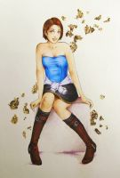 Commission: Jill Valentine by TirraMisu