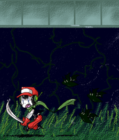 Cave Story - Grasstown by WaffleMilu