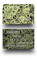 Circle Business Cards by Freshbusinesscards