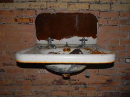 Bathroom - Westboro State Hospital by sonickingscrewdriver