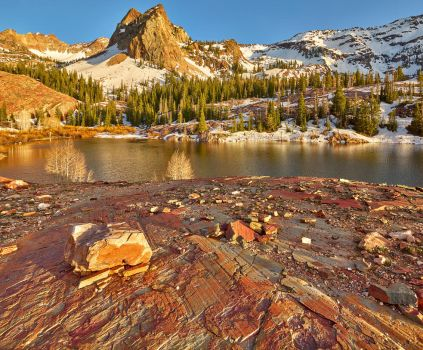 Lake Blanche by coulombic