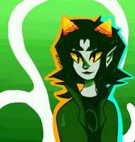 Homestuck - Leo Lady by abbic314