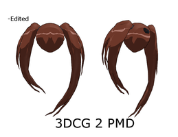 MMD : BRS Style Twintails by Ayodan