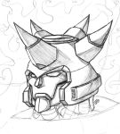 Galvatron Head Bust by Loadagain