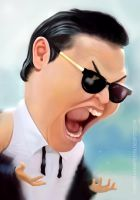 PSY_ GANGNAM STYLE _ speed painting by MOROTEO56