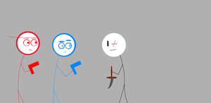 different stick figures by malis22