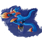 flamedramon sketch by KE-M72