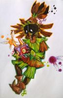 Skull Kid | Should I do it? by Niumiko