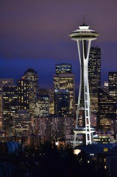 Space Needle by WickedCrud