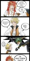 ToA 4 koma - Look out Below by gummypocky