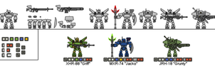 Mobile Frame Mecha by Sleeping-Demons