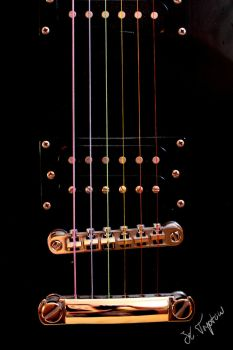 Rainbow Guitar by Kaddastrophic