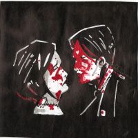 Three Cheers For Sweet Revenge,Toma 2, acrilico by Morbybiggestfan