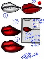 HOW 2DO LIPS by EmiJoCookie