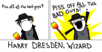 Harry Dresden (X all the Y) by xxtayce