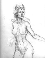 Dejah Thoris prelim by martianhalo