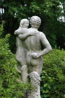 adam and eve statue by objekt-stock