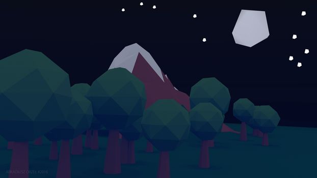 Blender - low poly world 04 by KeraVX
