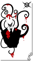 In blood-slenderman by sSflowerSs