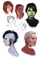 sketchdump 01 by leahmsmith