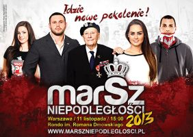 Independence March 2013 Official poster by N4020