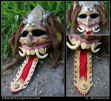 Balinese Spirit Mask by JulieBeloussow